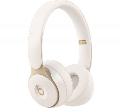 Save £50 at Currys on BEATS Solo Pro Wireless Bluetooth Noise-Cancelling Headphones - Ivory, Ivory