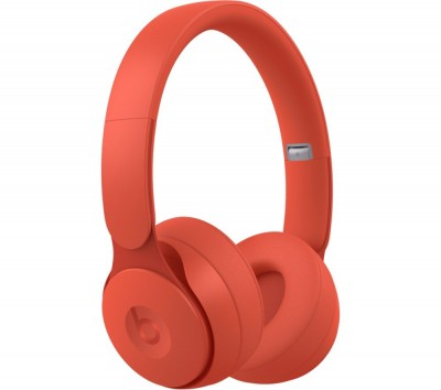 Save £50 at Currys on BEATS Solo Pro Wireless Bluetooth Noise-Cancelling Headphones - Matte Red, Red