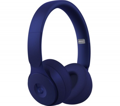 Save £50 at Currys on BEATS Solo Pro Wireless Bluetooth Noise-Cancelling Headphones - Matte DarkBlue, DarkBlue