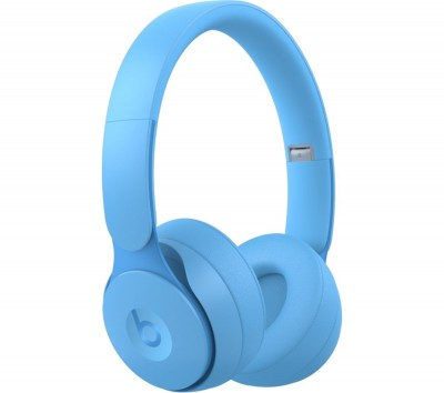 Save £50 at Currys on BEATS Solo Pro Wireless Bluetooth Noise-Cancelling Headphones - Matte Light Blue, Blue