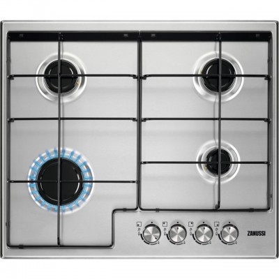 Save £60 at AO on Zanussi ZGH65411XB 60cm Gas Hob - Stainless Steel