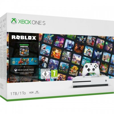 Save £40 at AO on Xbox One S 1TB with Roblox, 3 Roblox Avatar Bundles and 1 Month Game Pass - White