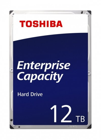 Save £44 at Ebuyer on Toshiba Enterprise HDD 12TB 3.5 SATA 6Gbit/s 7200RPM