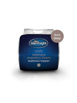 Save £15 at Very on Silentnight Impress 5Cm Memory Foam Mattress Topper