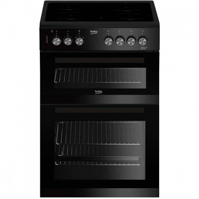 Save £50 at AO on Beko ADC6M13K 60cm Electric Cooker with Ceramic Hob - Black - A/A Rated