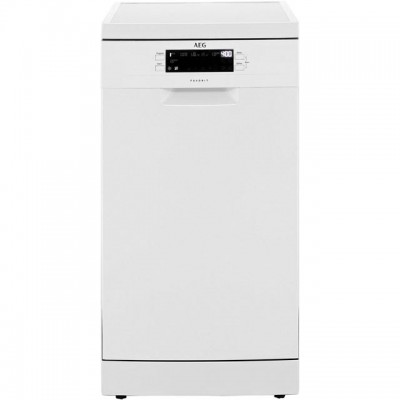 Save £50 at AO on AEG FFB62400PW Slimline Dishwasher - White - A++ Rated