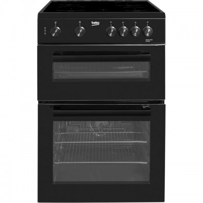 Save £50 at AO on Beko KTC611K 60cm Electric Cooker with Ceramic Hob - Black - A Rated