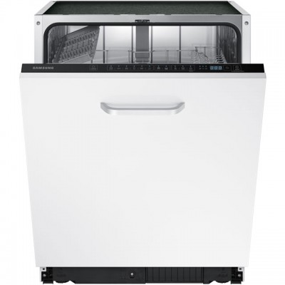 Save £100 at AO on Samsung DW60M6040BB Fully Integrated Standard Dishwasher - Black Control Panel with Fixed Door Fixing Kit - A++ Rated