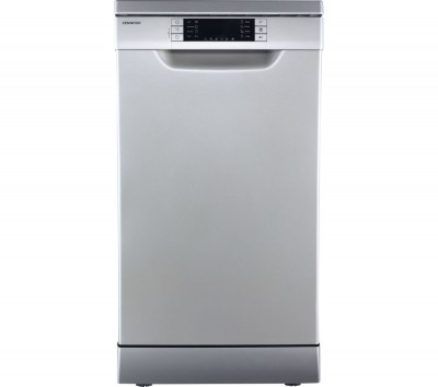 Save £30 at Currys on KENWOOD KDW45S16 Slimline Dishwasher - Silver, Silver
