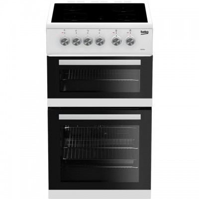 Save £30 at AO on Beko ADC5422AW 50cm Electric Cooker with Ceramic Hob - White - A Rated