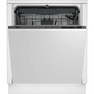 Save £50 at AO on Beko DIN28R22 Fully Integrated Standard Dishwasher - Silver Control Panel with Fixed Door Fixing Kit - A++ Rated
