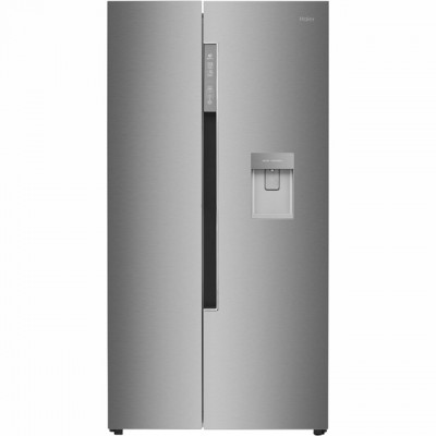 Save £121 at AO on Haier HRF-522IG6 American Fridge Freezer - Silver - A+ Rated