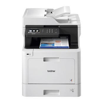 Save £47 at Scan on Brother DCP-L8410CDW All In One Wireless Colour Laser Printer/Scanner/