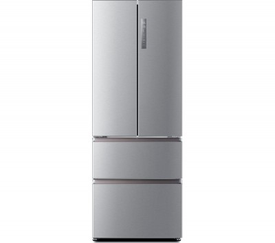 Save £60 at Currys on HAIER Slim American Style Fridge Freezer HB16FMAA 60/40 - Stainless Steel, Stainless Steel