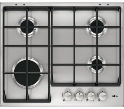 Save £40 at Currys on AEG HG654351SM Gas Hob - Stainless Steel, Stainless Steel