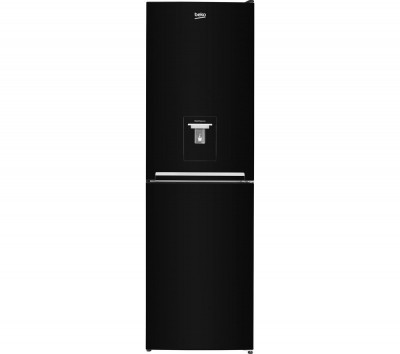 Save £40 at Currys on CSG1582D1B 50/50 Fridge Freezer - Black, Black