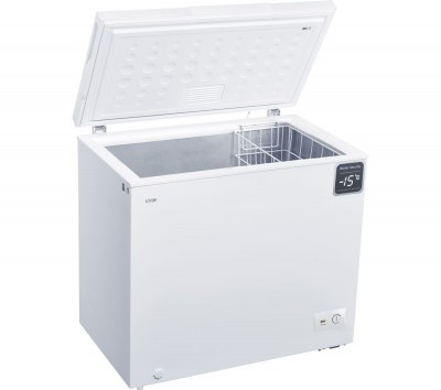 Save £50 at Currys on LOGIK L200CFW18 Chest Freezer - White, White