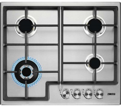 Save £20 at Currys on ZANUSSI ZGH66424XX Gas Hob - Stainless Steel, Stainless Steel