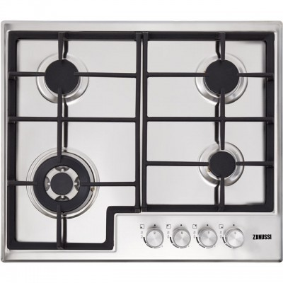 Save £21 at AO on Zanussi ZGH66424XX 60cm Gas Hob - Stainless Steel