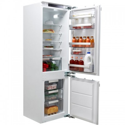 Save £100 at AO on AEG SCE8182XNC Integrated 70/30 Frost Free Fridge Freezer with Fixed Door Fixing Kit - White - A++ Rated