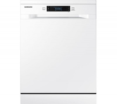 Save £80 at Currys on SAMSUNG DW60M6050FW Full-size Dishwasher - White, White