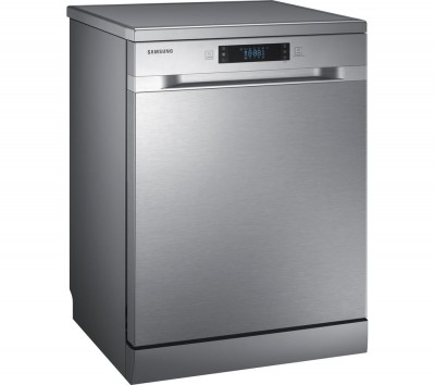 Save £50 at Currys on SAMSUNG DW60M6050FS Full-size Dishwasher - Stainless Steel, Stainless Steel