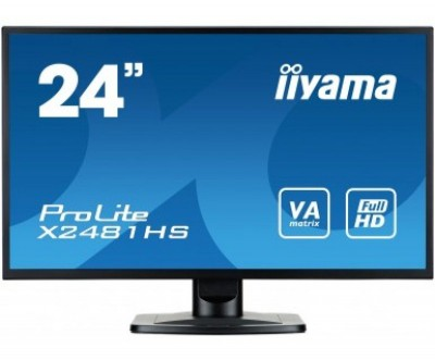 Save £27 at Ebuyer on Iiyama Prolite X2481HS-B1 23.6 Full HD Monitor