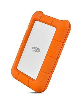 Save £40 at Very on Lacie Rugged Usb-C 1000Gb Ssd Sthr1000800 1Tb Portable Hard Drive