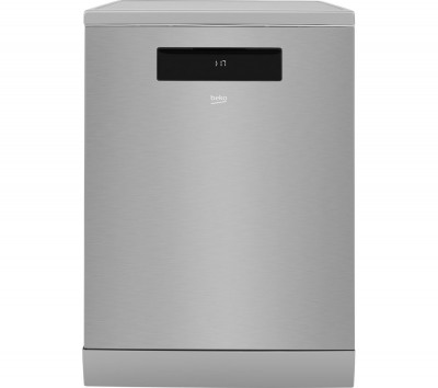 Save £50 at Currys on BEKO DEN59420DX Full-size Smart Dishwasher - Stainless Steel, Stainless Steel