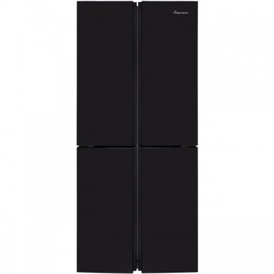 Save £100 at AO on Fridgemaster MQ79394FFB American Fridge Freezer - Black - A+ Rated
