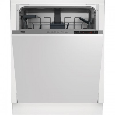 Save £30 at AO on Beko DIN26410 Fully Integrated Standard Dishwasher - Silver Control Panel with Fixed Door Fixing Kit - A+ Rated