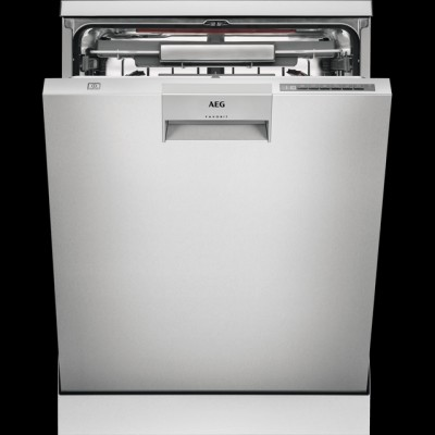 Save £100 at AO on AEG ComfortLift FFE63806PM Standard Dishwasher - Stainless Steel - A+++ Rated