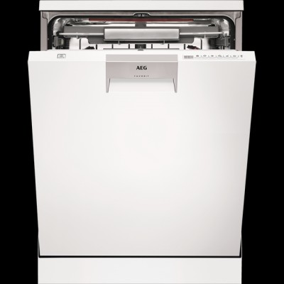 Save £100 at AO on AEG ComfortLift FFE63806PW Standard Dishwasher - White - A+++ Rated