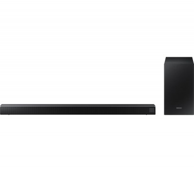 Save £30 at Currys on SAMSUNG HW-R550 2.1 Wireless Sound Bar