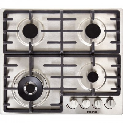 Save £40 at AO on Hisense GM663XUK 60cm Gas Hob - Stainless Steel