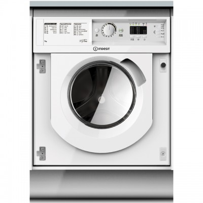 Save £80 at AO on Indesit BIWMML71452 Integrated 7Kg Washing Machine with 1400 rpm - A++ Rated