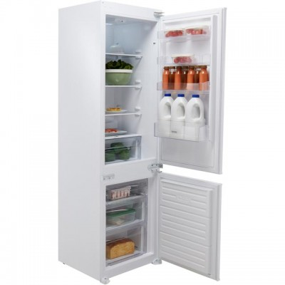 Save £40 at AO on Baumatic BRCIS3180E Integrated 70/30 Fridge Freezer with Sliding Door Fixing Kit - White - A++ Rated