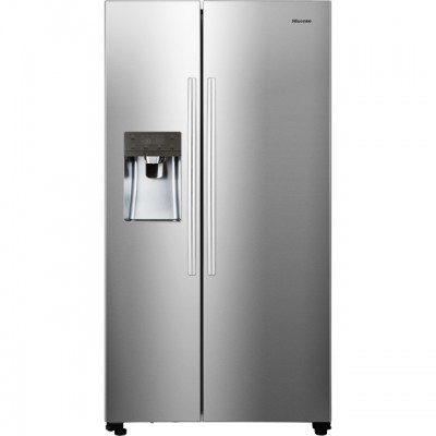 Save £100 at AO on Hisense RS696N4IC1 American Fridge Freezer - Stainless Steel Effect - A+ Rated
