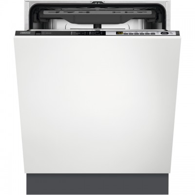 Save £70 at AO on Zanussi ZDT36001FA Fully Integrated Standard Dishwasher - Black Control Panel with Sliding Door Fixing Kit - A++ Rated