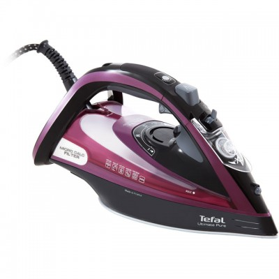 Save £15 at AO on Tefal Ultimate Pure FV9830 3000 Watt Iron -Black / Purple