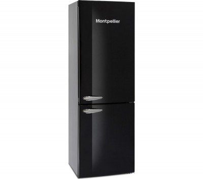 Save £50 at Currys on MAB385K 60/40 Fridge Freezer - Black, Black