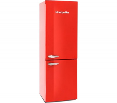 Save £50 at Currys on MAB385R 60/40 Fridge Freezer - Red, Red