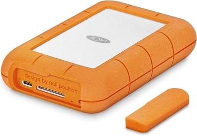 Save £48 at Ebuyer on Lacie 4tb Rugged Raid Pro Usb C And Usb 3.0 Portable Hard Drive With Integrated Sd Card Reader