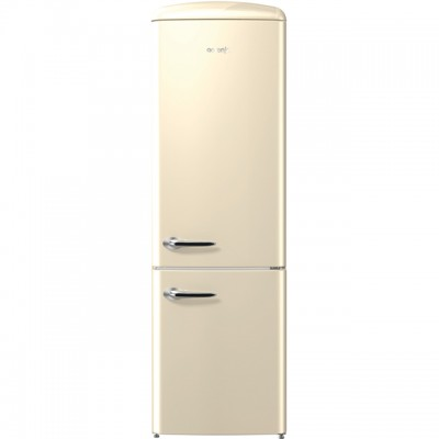 Save £270 at AO on Gorenje Retro Collection ORK193C 70/30 Fridge Freezer - Cream - A+++ Rated
