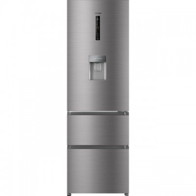 Save £100 at AO on Haier AFE635CHJW 60/40 Frost Free Fridge Freezer - Silver - A+ Rated