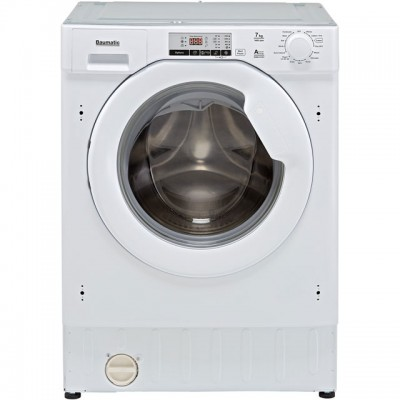 Save £40 at AO on Baumatic BWMI1472D3/1 Integrated 7Kg Washing Machine with 1400 rpm - A+++ Rated