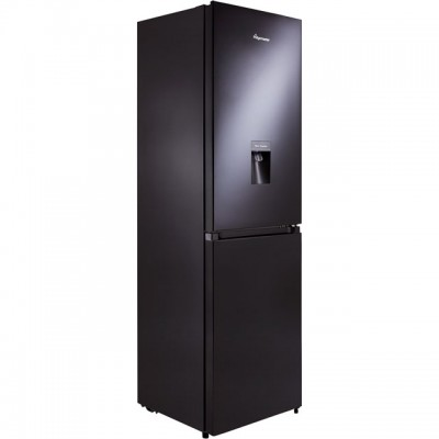 Save £50 at AO on Fridgemaster MC55251MDB 50/50 Frost Free Fridge Freezer - Black - A+ Rated