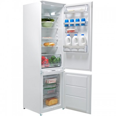 Save £90 at AO on AEG SCE8191VTS Integrated 70/30 Frost Free Fridge Freezer with Sliding Door Fixing Kit - White - A+ Rated