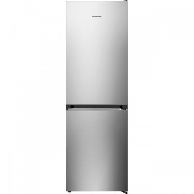 Save £50 at AO on Hisense RB406N4AC1 60/40 Frost Free Fridge Freezer - Stainless Steel - A+ Rated