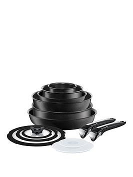 Save £50 at Very on Tefal Ingenio Induction 13-Piece Pan Set - Black